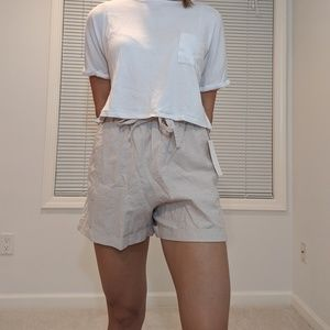 Uniqlo Paper Bag Shorts